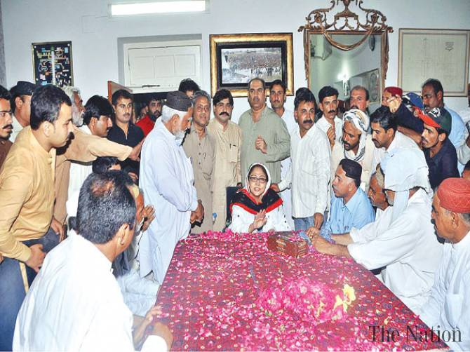 Nawab Ali Wassan With Party