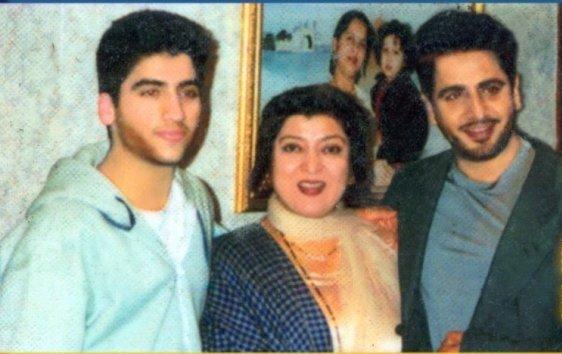 Gurdas Maan Family Pics