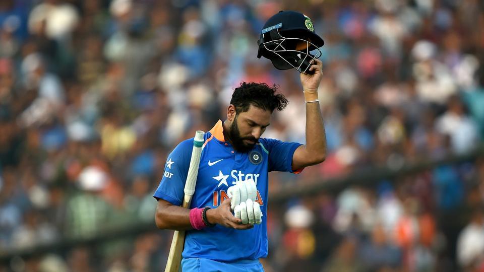 Yuvraj Singh Hats Off