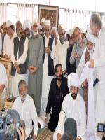 Syed Amir Ali Shah Jamote with Peer Pahgarda