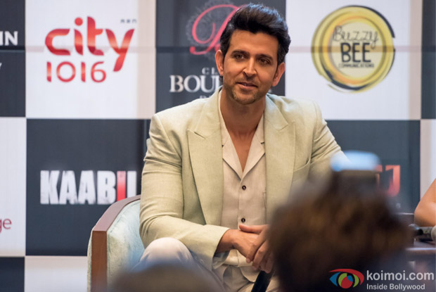 Hrithik Roshan and Team Kaabil At Dubai for Flim Promotion