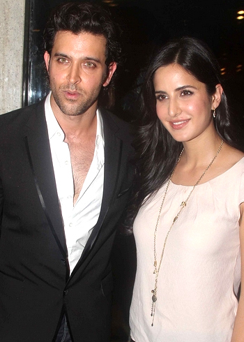 Hrithik Roshan and Katrina Kaif chemistry in movie Bang Bang