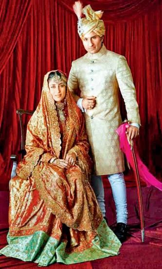 Kareena Kapoor and Saif Ali Khan Wedding