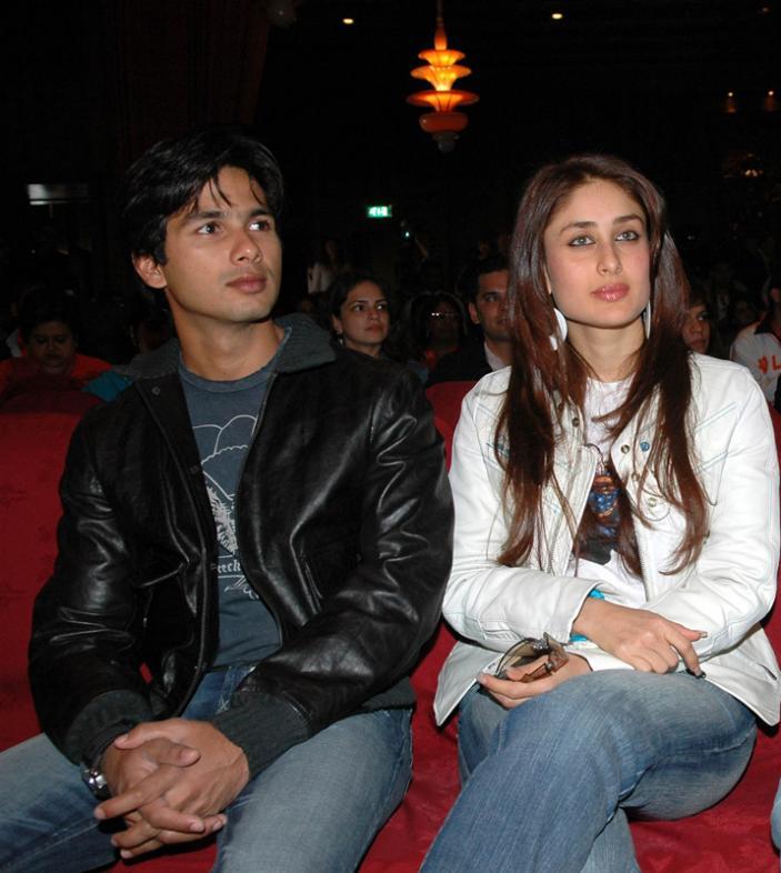 Kareena Kapoor With Shahid Kapoor