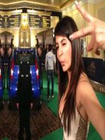 Anushka Sharma Cool Pic while shooting