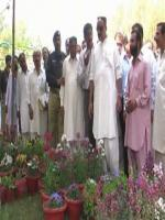 Mir Munawar Ali Talpur in Inogration Flowers Show