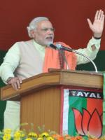 Narendra Modi During Speech