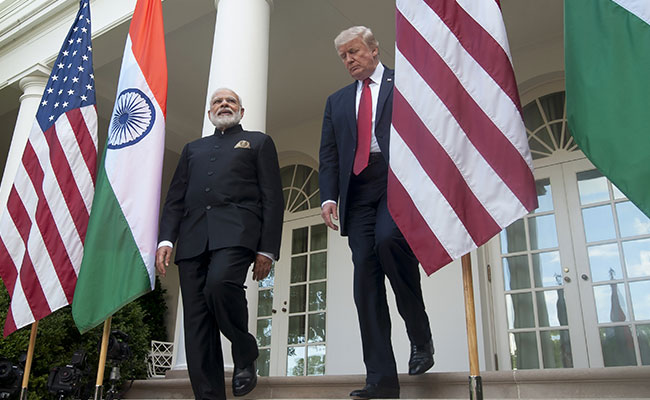 Narendra Modi Meet Donald Trump 2017 Photo