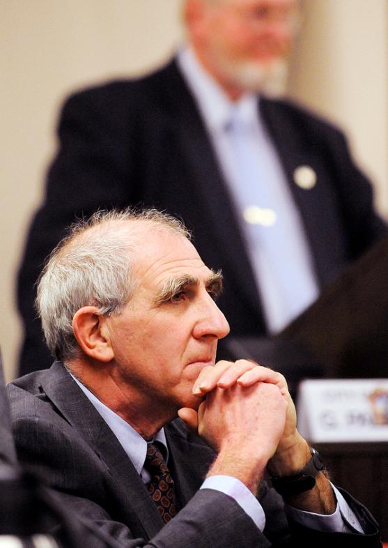 Richard Stone at Bangor Council