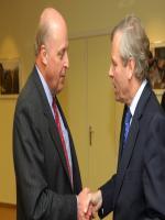 John Negroponte visit at NATO