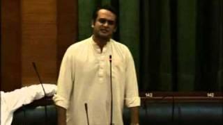 Imran Zafar Leghari in national assembly