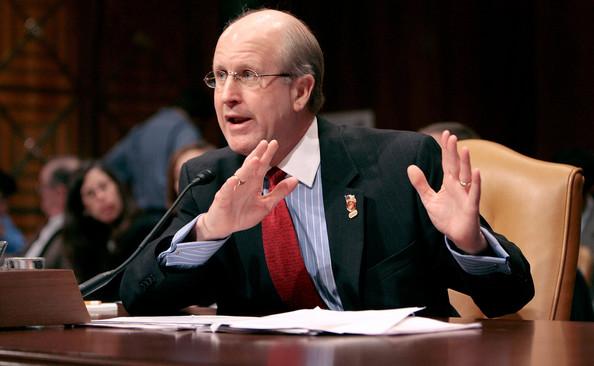 David M. Walker at Senate