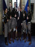 Robert Gates With Army