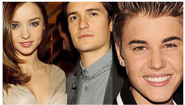 Justin Bieber who was rumored to have a relation with Kerr