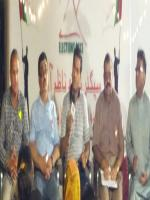 Muhammad Rehan Hashmi with Party Members