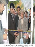 Sufyan Yousuf Opening MQM Ofice in Nager Hunza