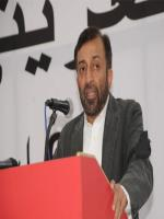 Doctor Muhammad Farooq Sattar Addressing