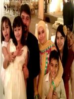 Syed Ali Raza Abidi with Family