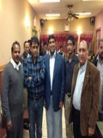 Muhammad Muzammil Qureshi with Party Members