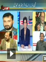Syed Asif Hasnain in News Studio
