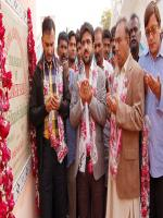 Syed Asif Hasnain inaugurates Alamgir Park