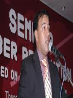 Sajid Ahmed Addressing