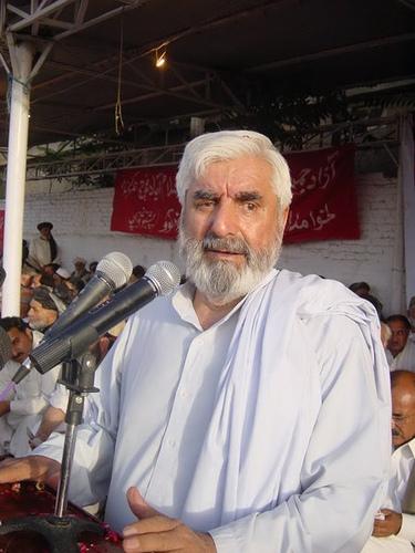 Abdul Rahim Mandokhail Addressing to People
