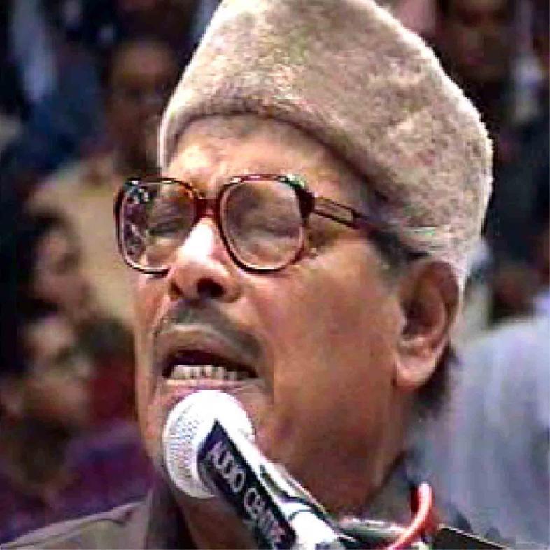 Manna Dey performing