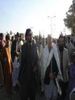Sardar Kamal Khan Bangulzai with Tahir Bezinjo