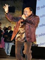 Mohammed Aziz at show