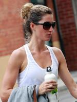 Gisele Bundchen after Gym