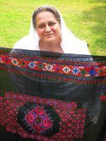 Mussarat Ahmadzeb Representing Swati culture