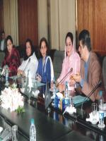 Sajida Begum with Other Members