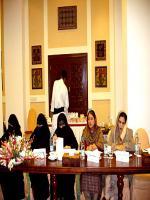 Shahida Akhtar Ali in conference