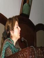 Shaista Pervaiz Adressing
