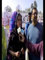 Nighat Parveen Talks to Media