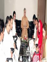 Shazadi Umarzadi Tiwana with Shahbaz Sharif