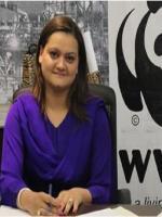 Marriyum Aurangzeb with WWF