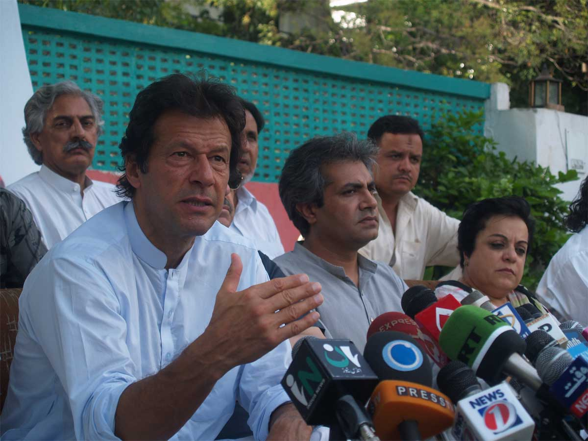 Shireen Mehrunnisa Mazari With Imran khan