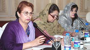 Mrs. Belum Hasnain With Party Members