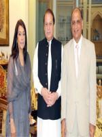 Shakila Luqman With nawaz Sharif