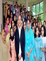 Shagufta Jumani With Shahbaz Sharif