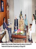 Nafisa Shah With Zardari