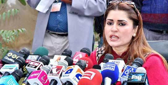 Shazia Marri Talks to Media