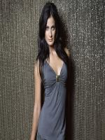 Dayanara Torres in gray dress