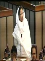 Kishwer Zehra In Assembly