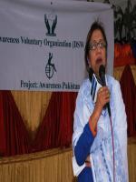 Kishwer Zehra Speech in Voluntary Organization