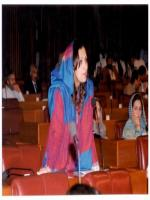 Marvi Memon in Assembly