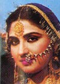 Actress Anjuman
