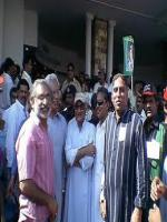 Ramesh Lal with Party Members